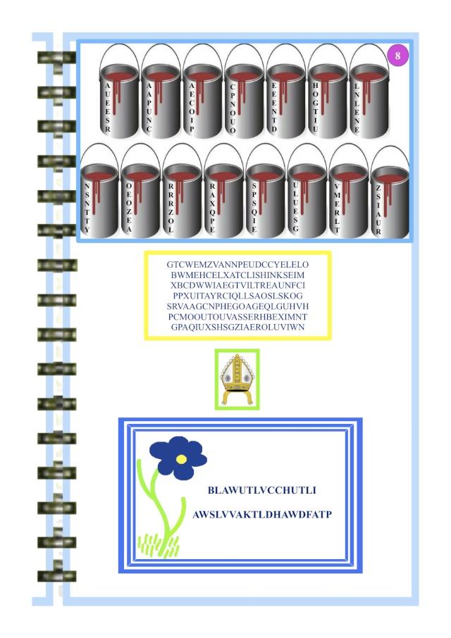 Enigme B - énigme 8 / résolue Etpein11
