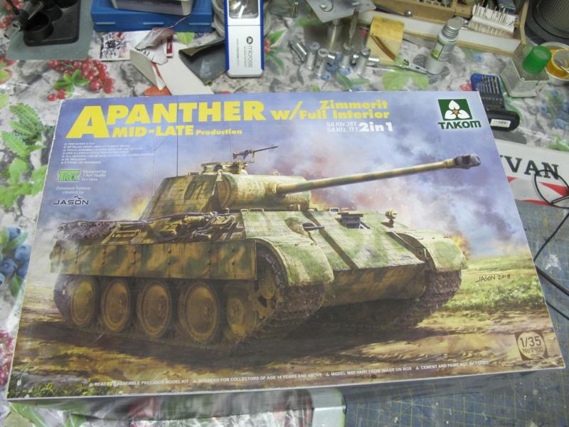 "Panther in Normandy (Marini Claudio)""TERMINATO"" Img_0762"