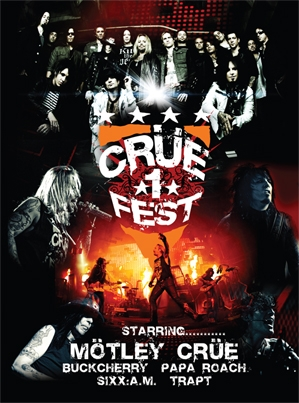 Vidéo Sixx:am Concert live Cruefe10