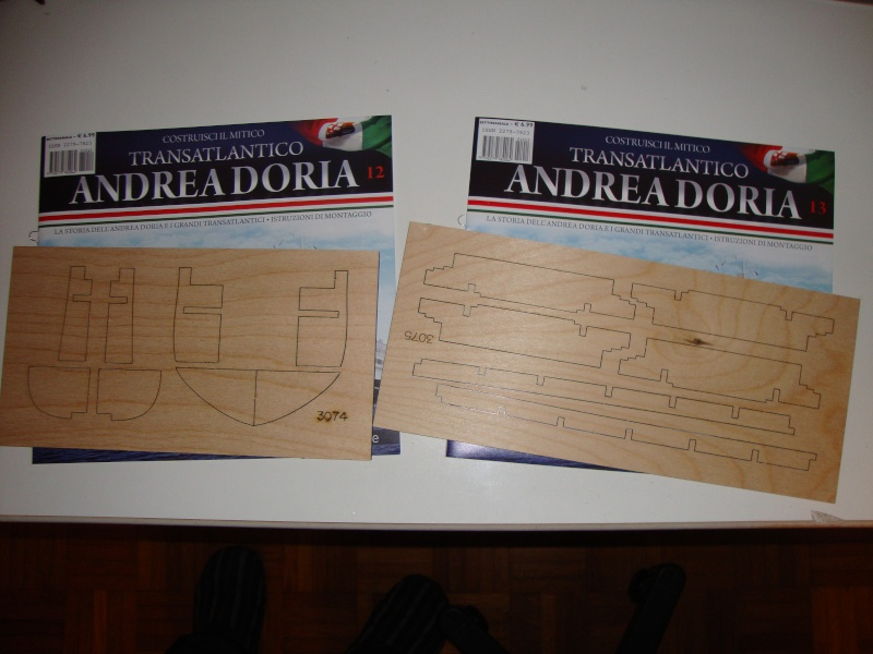 Andrea - Transatlantico Andrea Doria Hachette by Amati 012-1310