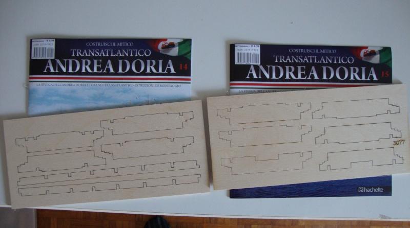 Andrea - Transatlantico Andrea Doria Hachette by Amati 014-1510