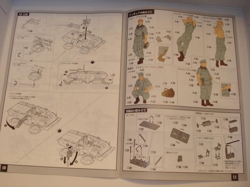 Bandai E.F.G.F M353A4 Bloodhound platoon briefing set Dsc02033