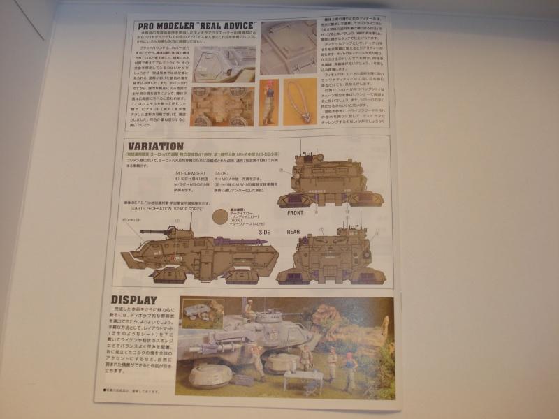 Bandai E.F.G.F M353A4 Bloodhound platoon briefing set Dsc02034