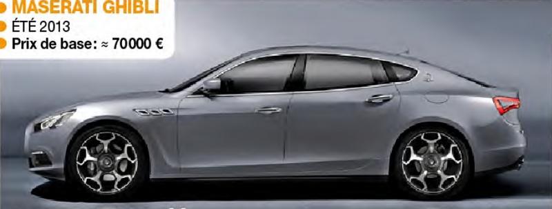 2014 - [Maserati] Ghibli - Page 3 Ghibli10