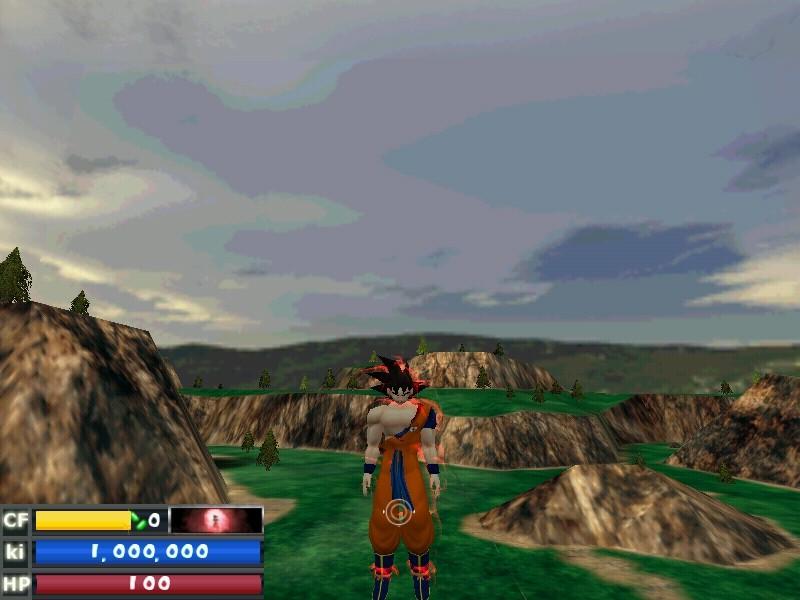 [Para descargar e.e] Goku Con plugin del triple kaioken by Matias_Esf. El goku del parche e.e Kaioke10