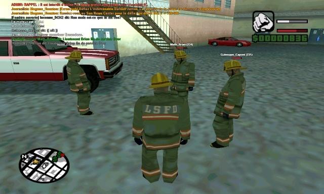 | Los Santos Fire Department | Sa-mp-43