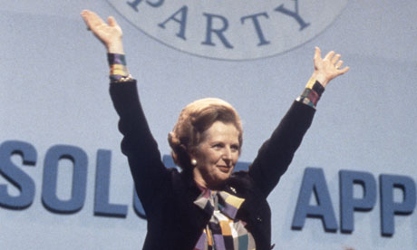 MARGARET THATCHER started it all from way back in the 80's. Margar10