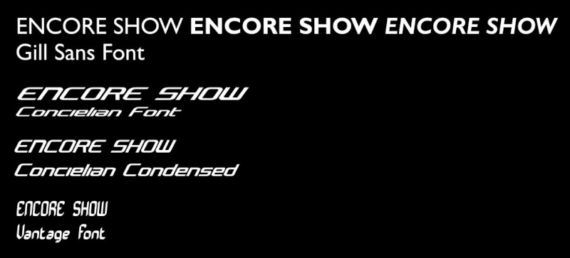 ENCORE SHOW Layout Banner Contest Encore10