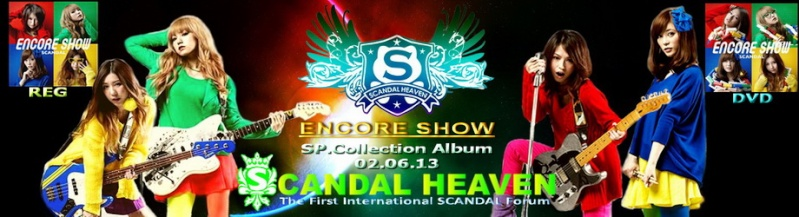ENCORE SHOW Layout Banner Contest Scanda12