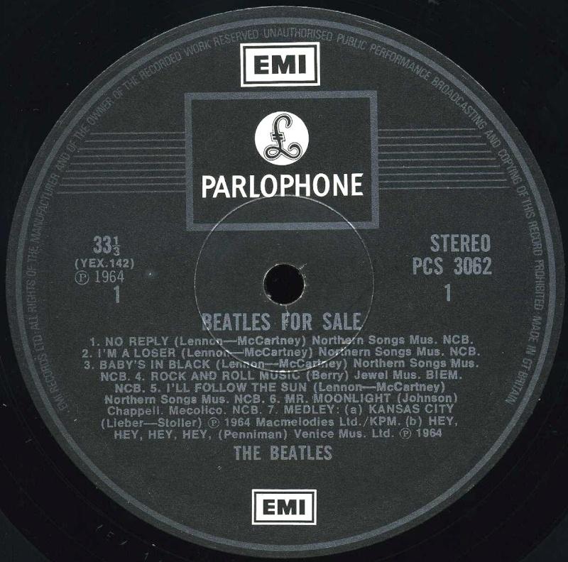 Beatles For Sale  4-bfs-12