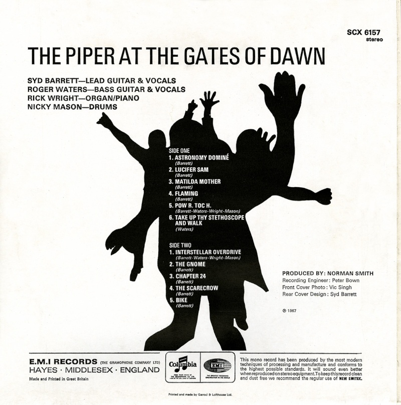 The Piper At The Gates Of Dawn Bc14