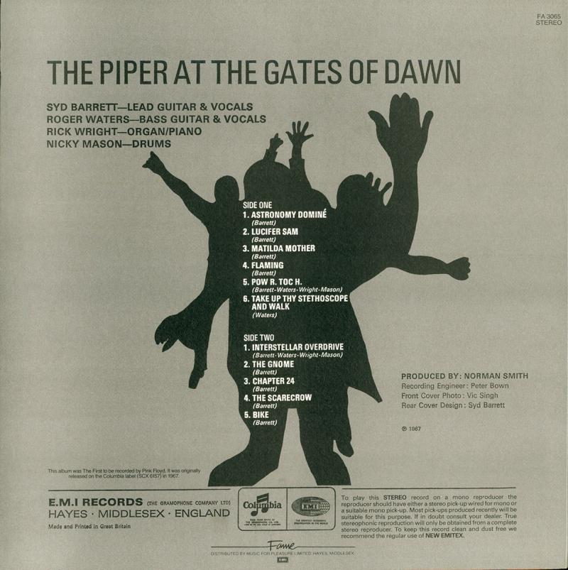 The Piper At The Gates Of Dawn Bc16
