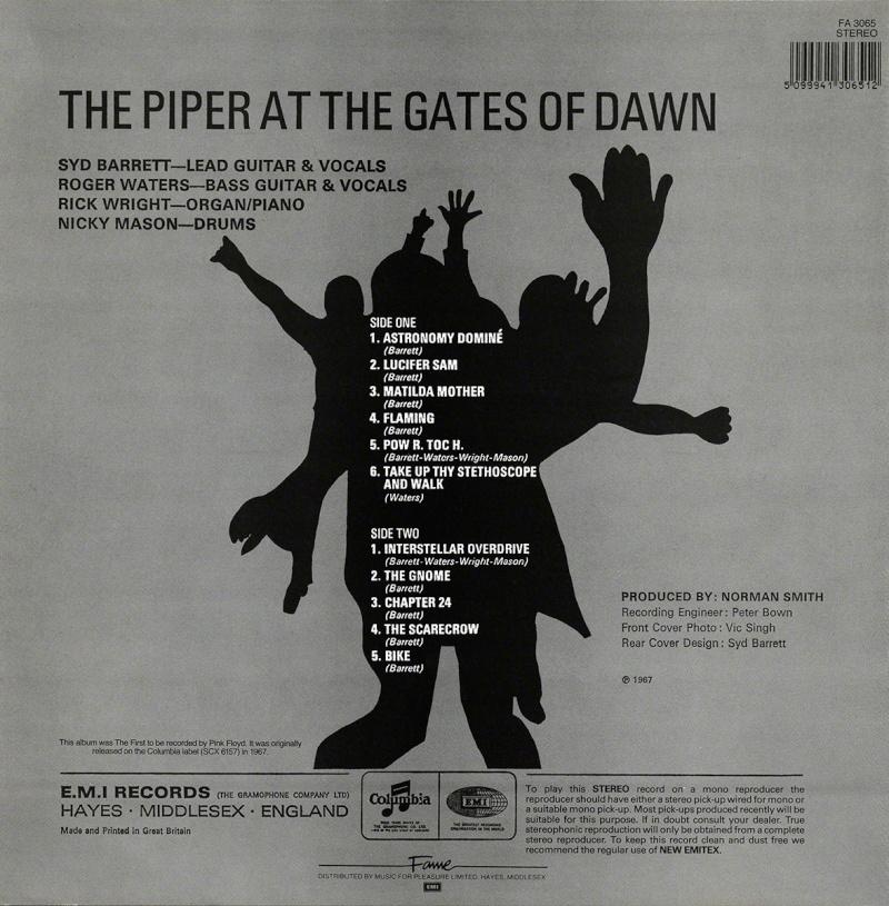 The Piper At The Gates Of Dawn Bc17