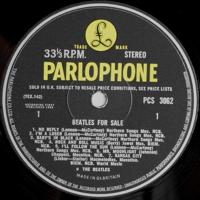 Beatles For Sale  Bfs-1s11