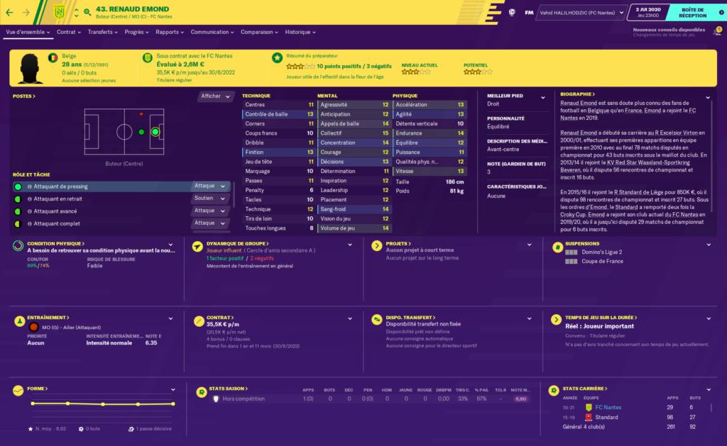 Départ FC Nantes Emond10