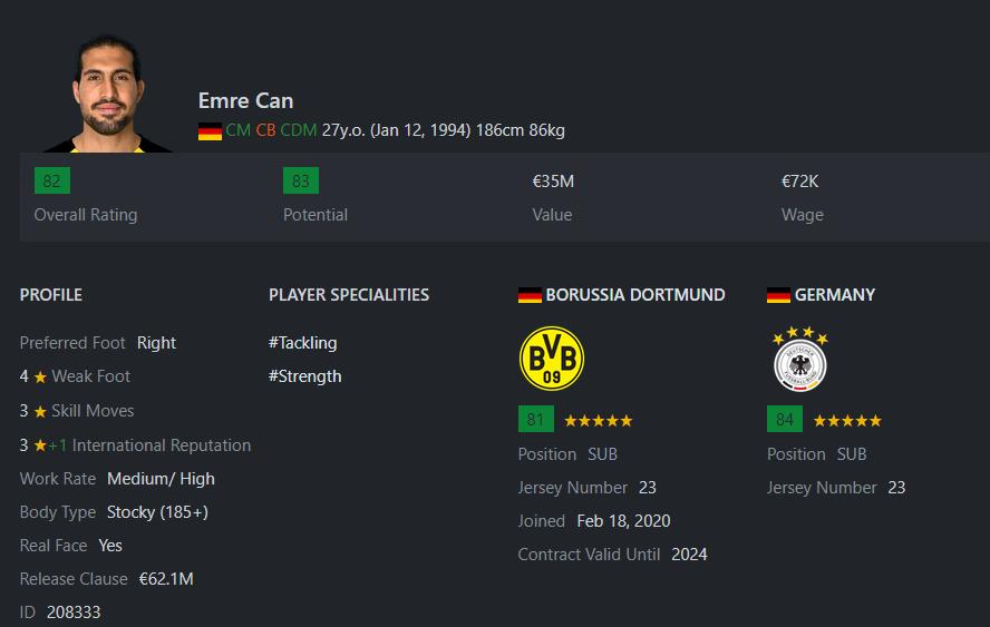 [Partie MF Fifa] Une nouvelle chance au BVB: Espoir ou Désespoir? Emreca11