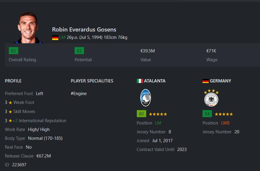 [Partie MF Fifa] Une nouvelle chance au BVB: Espoir ou Désespoir? Gosens12