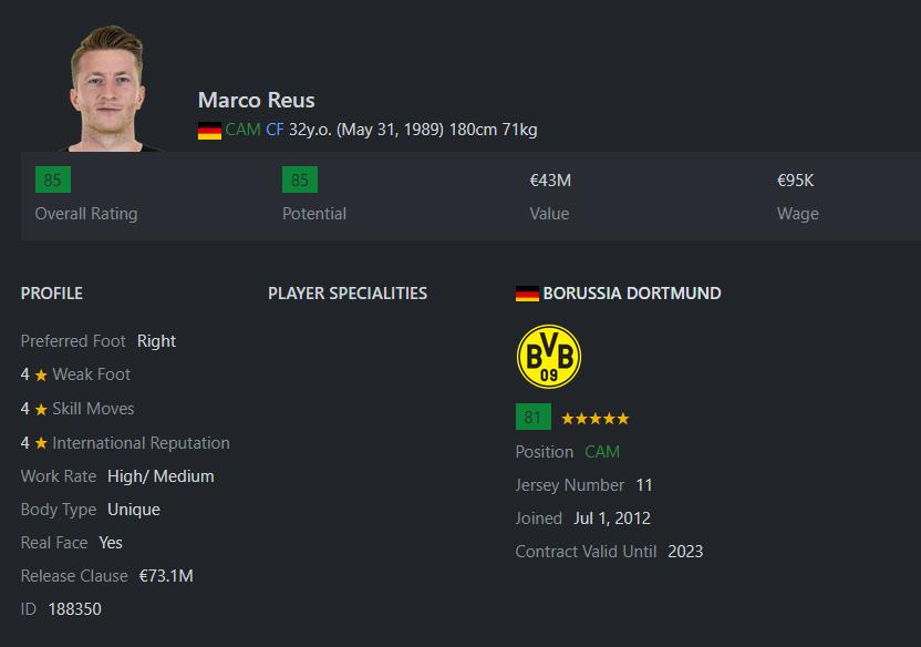 [Partie MF Fifa] Une nouvelle chance au BVB: Espoir ou Désespoir? Reus10