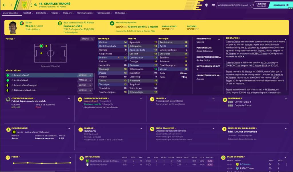 Départ FC Nantes Traore10
