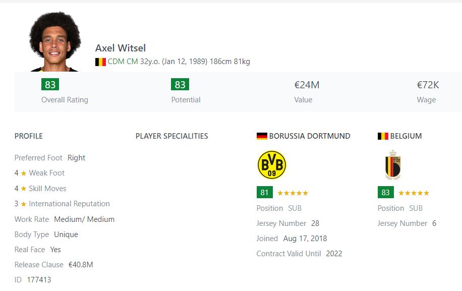 [Partie MF Fifa] Une nouvelle chance au BVB: Espoir ou Désespoir? Witsel10