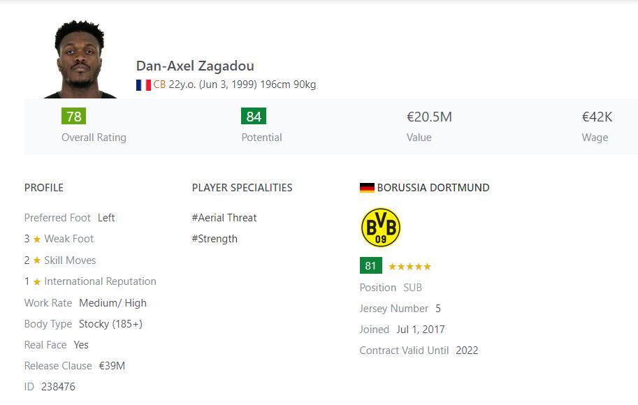 [Partie MF Fifa] Une nouvelle chance au BVB: Espoir ou Désespoir? Zagado10