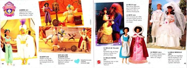 """Poupées Disney """"Classics"""" 1992 - 1999. 51150811"""