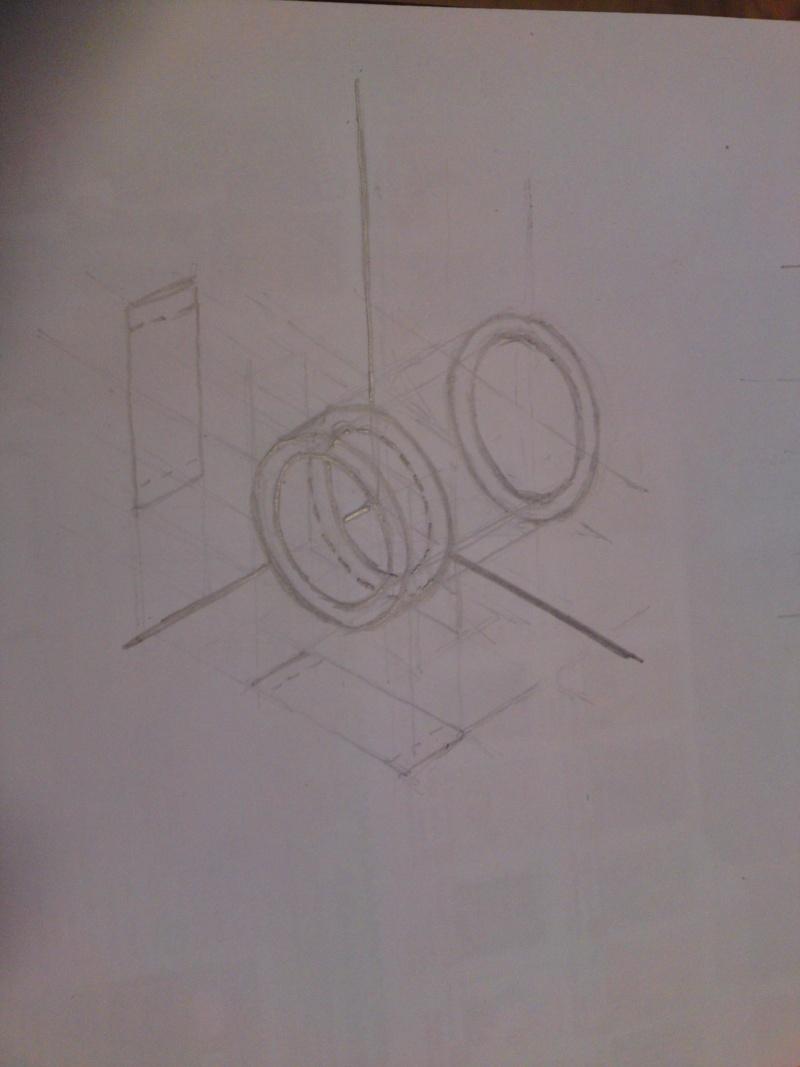 """""""Dessin pour les Nuls""""  N°1 Notions de base, une perspective cavalière  P03-0111"""