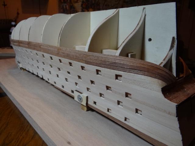 Rolf52 Baubericht zur Santissima Trinidad von OcCre Dsc01515