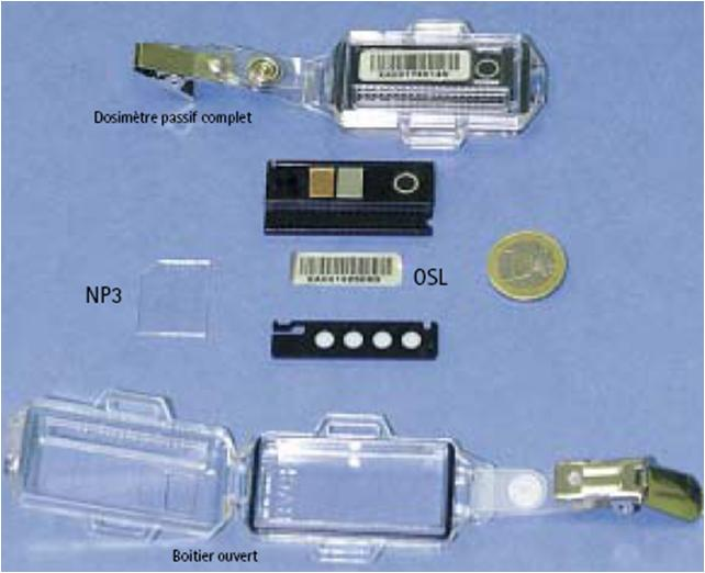dosimetre opérationnel vs passif Osl10