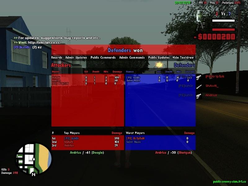 1v3 and won :D Sa-mp-18
