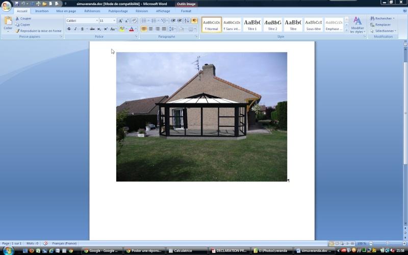 comment poser le carrelage d'une veranda et celui de la terrasse Screen11