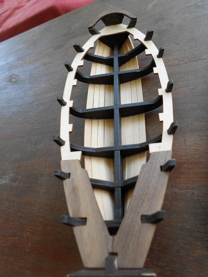 Bounty's Jolly boat 1/25e Artesania Latina Dscn7210