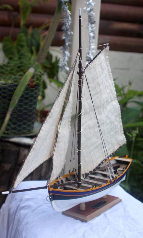 Bounty's Jolly boat 1/25e Artesania Latina Img_7210