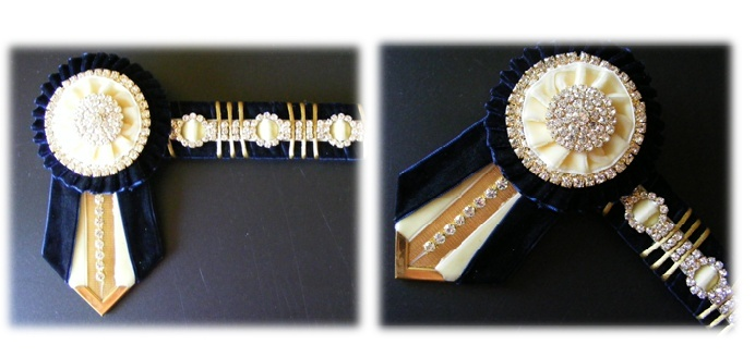 Bling Browbands and Accessories Blue_a10