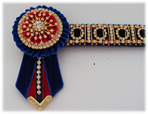 Bling Browbands and Accessories Blue_r10