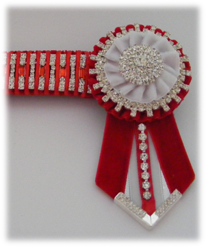 Bling Browbands and Accessories Red_an10