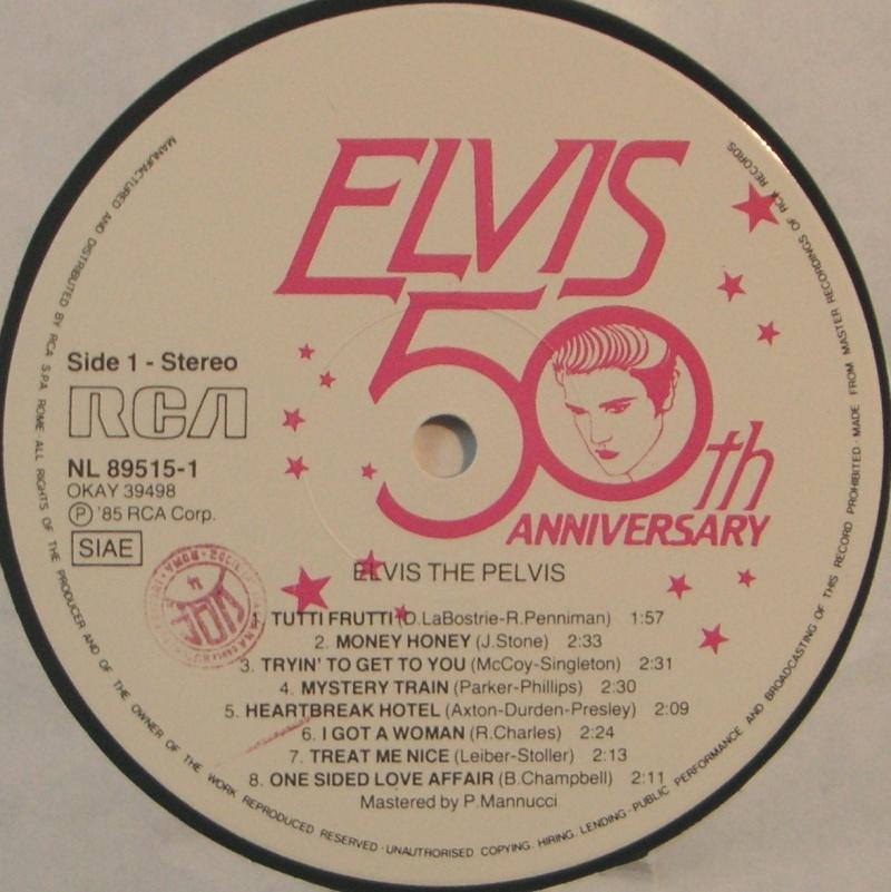 """ELVIS """"THE PELVIS"""" 12d11"""