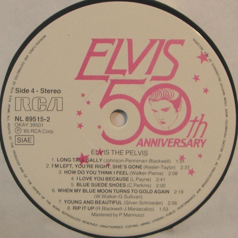 """ELVIS """"THE PELVIS"""" 12g10"""