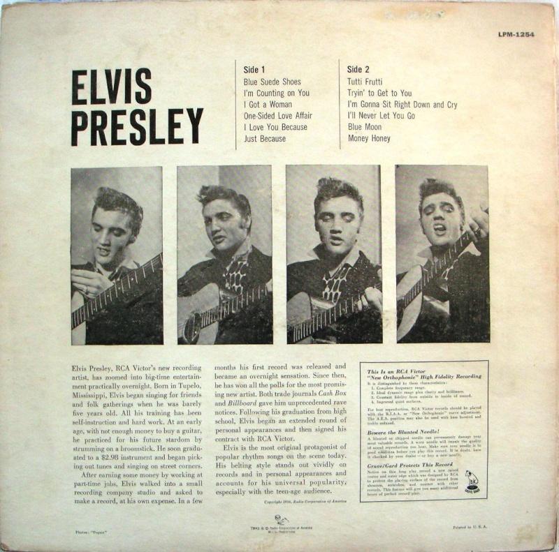 ELVIS PRESLEY 1a12