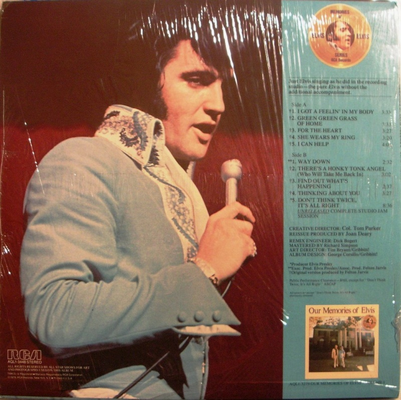 OUR MEMORIES OF ELVIS VOLUME 2 1a44