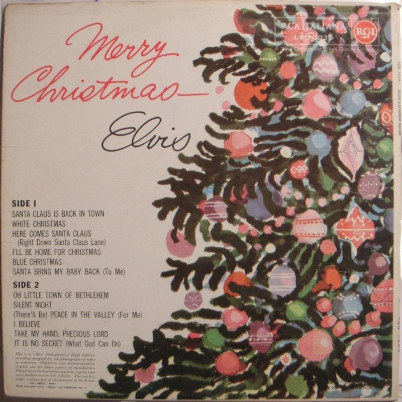 ELVIS' CHRISTMAS ALBUM 1a49