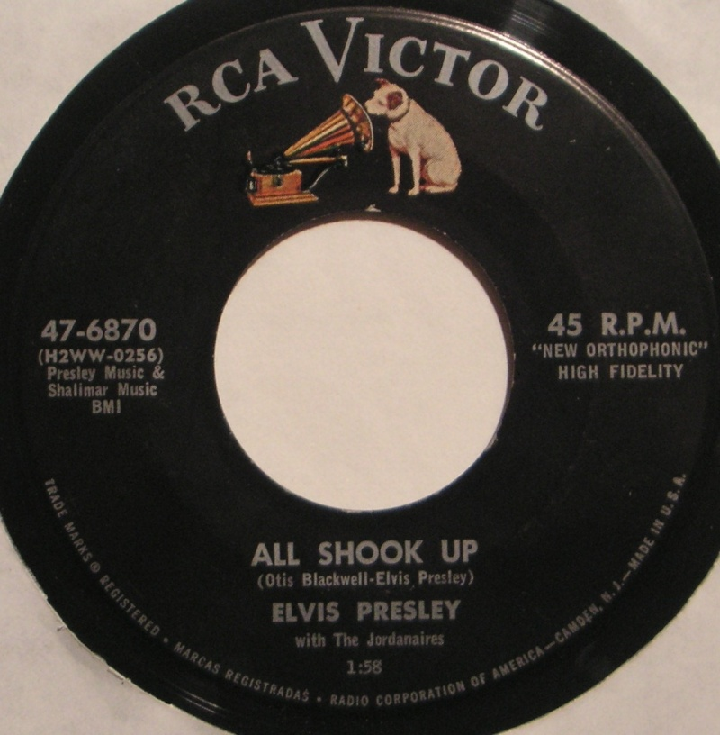 All Shook Up / That's When Your Heartaches Begin 1b80