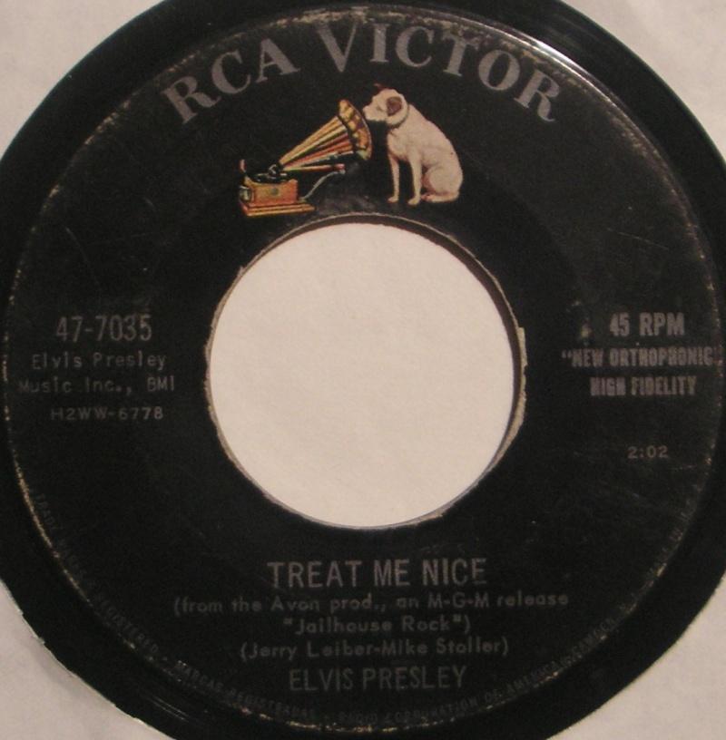 Jailhouse Rock / Treat Me Nice 1c86