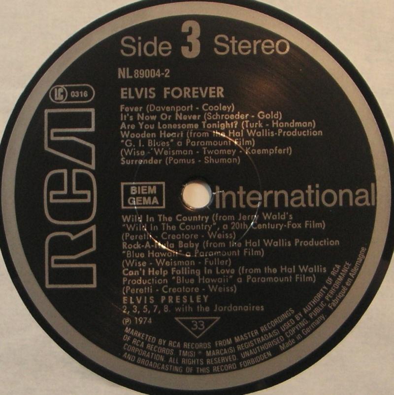 ELVIS FOREVER - 32 HITS 1f30