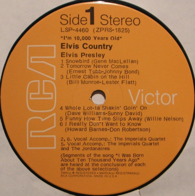 ELVIS COUNTRY 1g15