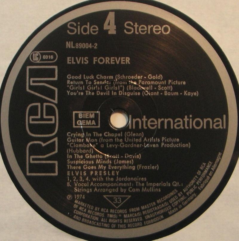 ELVIS FOREVER - 32 HITS 1g24