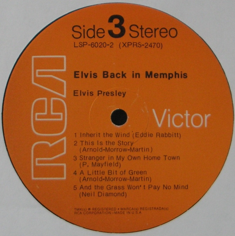 FROM MEMPHIS TO VEGAS - FROM VEGAS TO MEMPHIS 1i_12