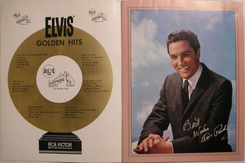 ELVIS' GOLD RECORDS VOL 3 1j11
