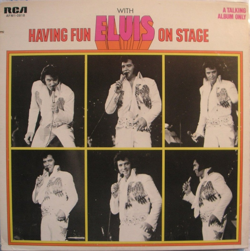 HAVING FUN WITH ELVIS ON STAGE (RCA) 212