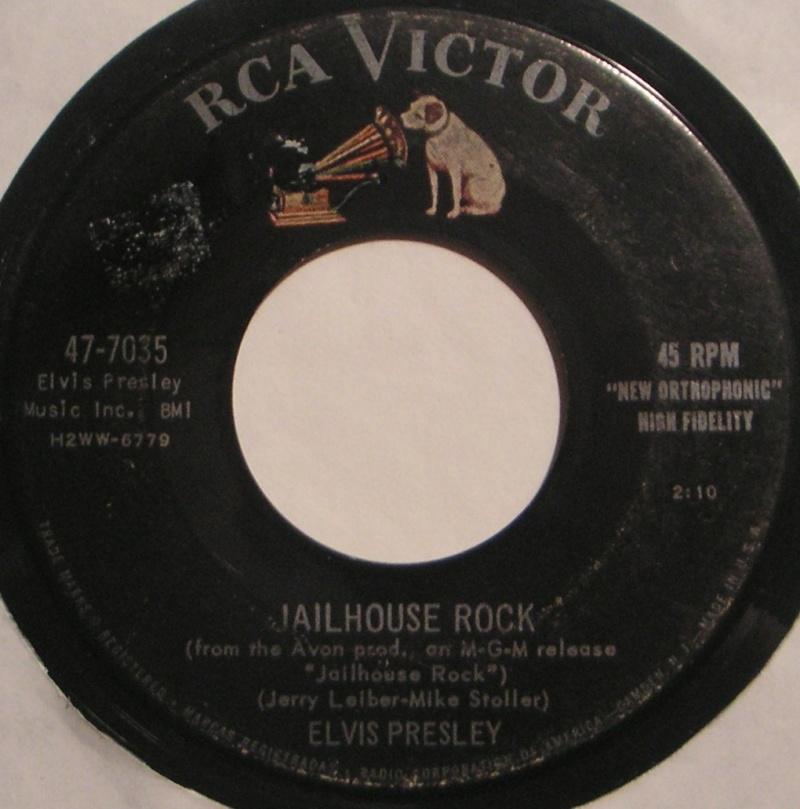 Jailhouse Rock / Treat Me Nice 2a35